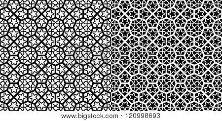 Moroccan Pattern. Mosaic Tiles
