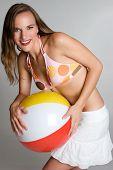 stock photo of beach-ball  - Summer Fun - JPG
