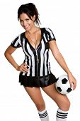 Sexy Soccer Referee