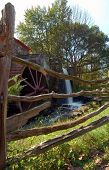 Water Wheel, Wayside Inn, Sudbury, Massachusetts