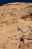 Climbing Red Rock Canyon, Nevada