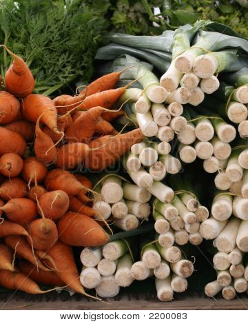 Carrots And Leeks