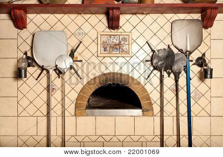 A Wood-fired Pizza Oven