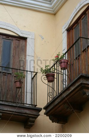 Quaint Balcony