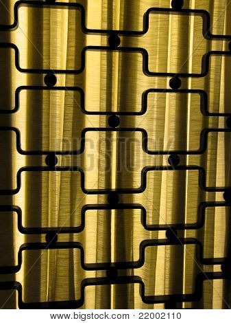 Abstract Metallic Pattern