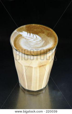 Double Latte With Art
