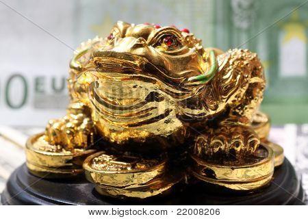 Fengshui-Geld-Frosch