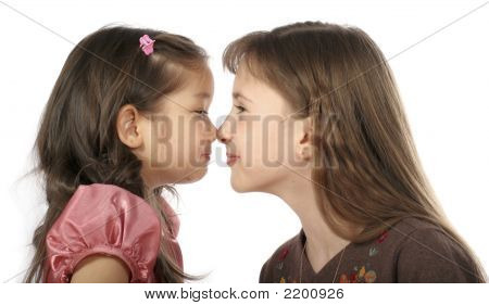 Two Playing Girls