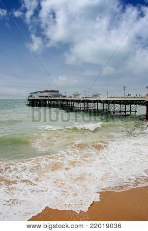 Cromer pier and beach