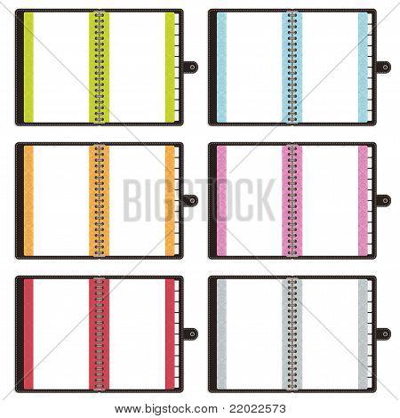 Cuadernos en blanco