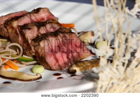 Gourmet Seared Beef