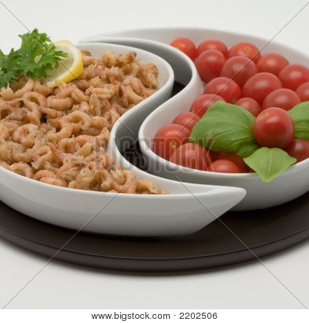 Shrimp And Tomato Appetizers