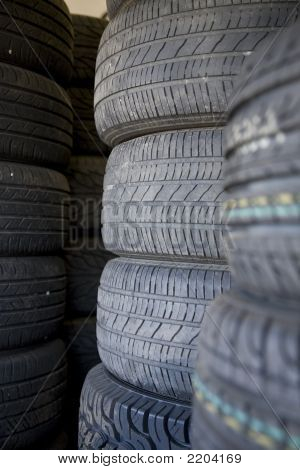 Tire Forest