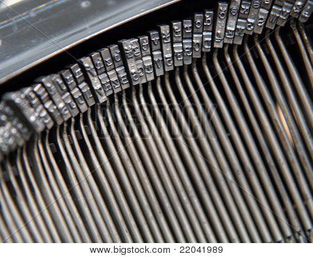 Detail Of Type Machine