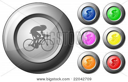 Sphere Button Cycling