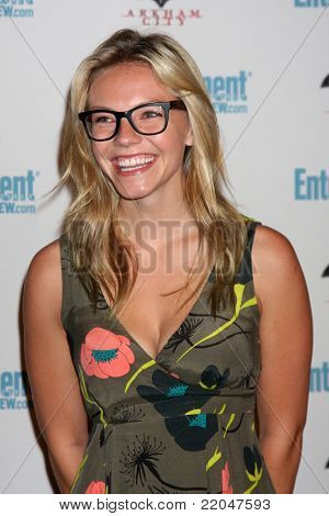 LOS ANGELES - JUL 23:  Eloise Mumford arriving at the EW Comic-con Party 2011 at EW Comic-con Party 2011 on July 23, 2011 in Los Angeles, CA