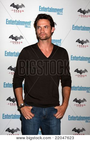 LOS ANGELES - JUL 23:  Shane West arriving at the EW Comic-con Party 2011 at EW Comic-con Party 2011 on July 23, 2011 in Los Angeles, CA