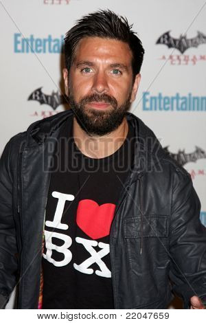 LOS ANGELES - JUL 23:  Joshua Gomez arriving at the EW Comic-con Party 2011 at EW Comic-con Party 2011 on July 23, 2011 in Los Angeles, CA