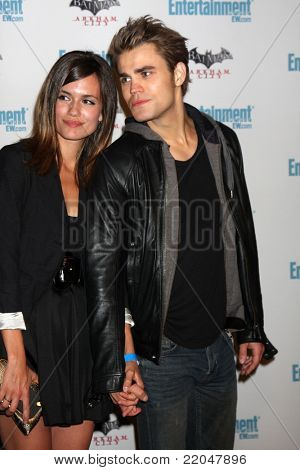 LOS ANGELES - JUL 23:  Torrey DeVitto, Paul Wesley arriving at the EW Comic-con Party 2011 at EW Comic-con Party 2011 on July 23, 2011 in Los Angeles, CA