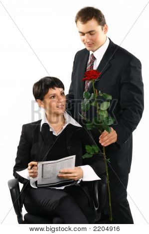 Present It A Flower