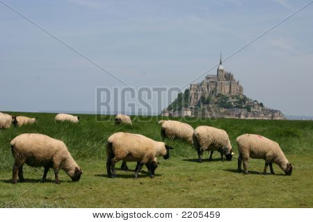 Mt. St. Michel, Normandy, France