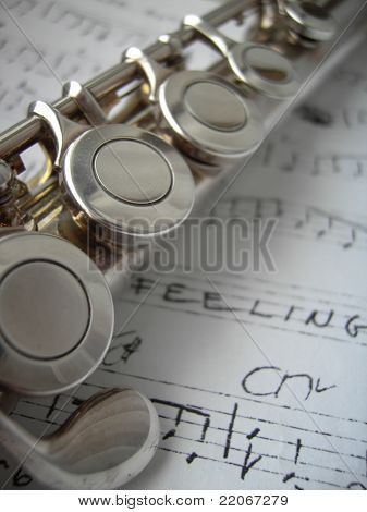 Flute and Note
