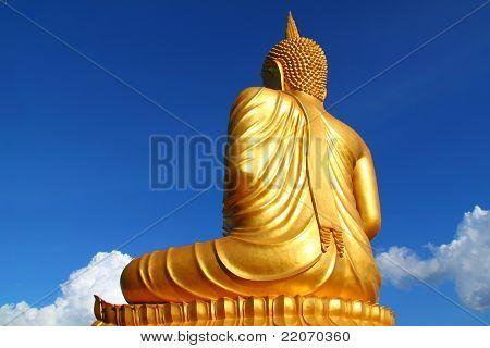 Back Of Buddha Statue