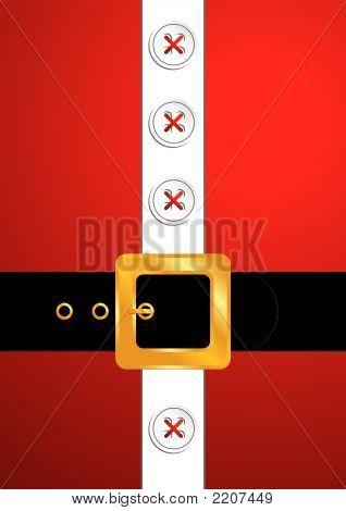 Santa Claus Golden Belt