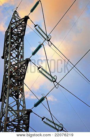 Electric pylone