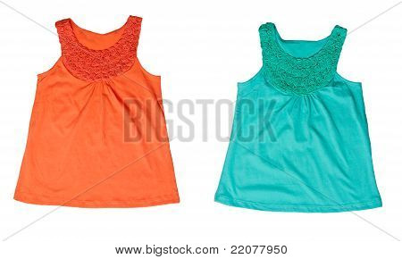 Collage Green And Orange Women's T-shirt
