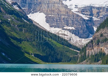 Mount Lefroy,mount Victoria, Lake Louise