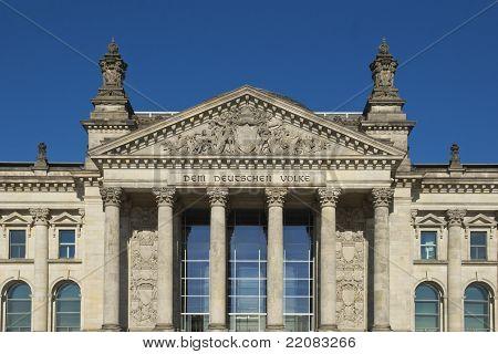 The Bundestag in Berlin, Germany, Europe