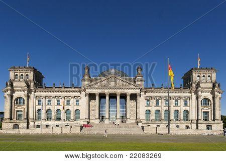 The Bundestag in Berlin