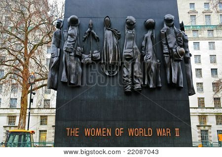 The National Monument To The Women Of World War Ii In London