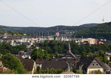 Town Siegen In  Germany