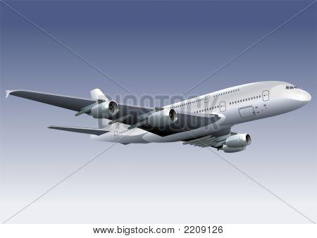 Double-Deck Lagest Jetliner A380