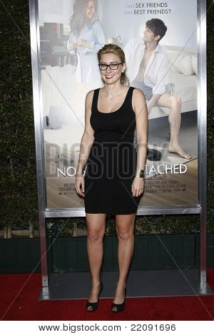 LOS ANGELES - JAN 11: Elizabeth Meriwether (screenwriter) at the premiere of 'No Strings Attached' at the Regency Village Theater in Los Angeles, California on January 11, 2011