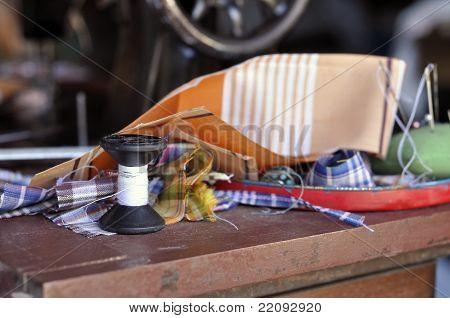 Pin Pillow Fabric Craft Work Roll