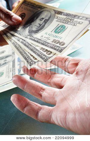 Receving Money