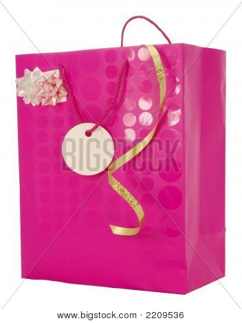 Girly Gift Carrier Bag