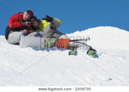 Winter Sport Lifestyle Concept