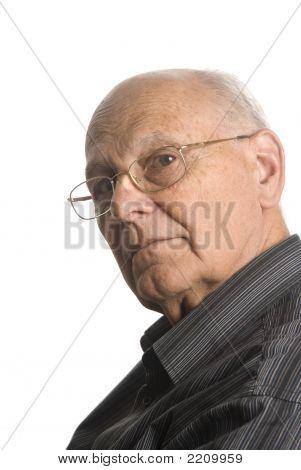 Self Confident Senior Man