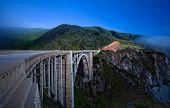 picture of bixby  - Bixby Creek Bridge - JPG