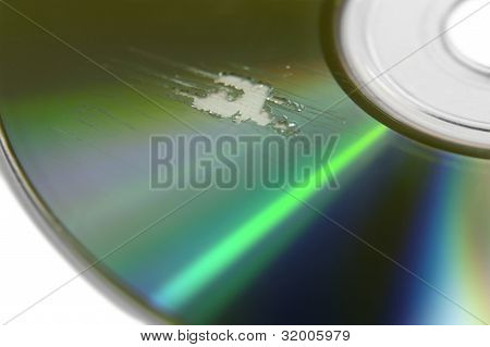 Multi Scratched Cd Surface