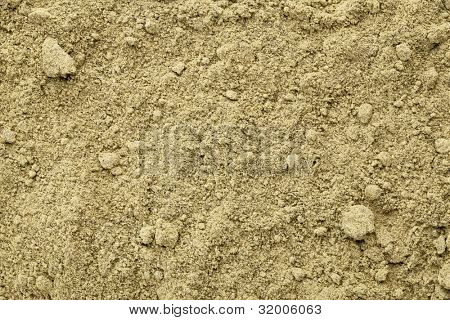 Texture of raw organic hemp protein powder - super food rich in nutrients (proteins, antioxidants, amino and fatty acids)