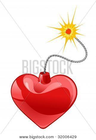 Herz-Bombe
