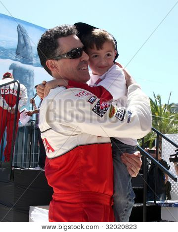LOS ANGELES - APR 14:  Adam Carolla, son at the 2012 Toyota Pro/Celeb Race at Long Beach Grand Prix on April 14, 2012 in Long Beach, CA.