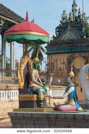 Wat Dum Rai Saw In Battambang, Cambodia
