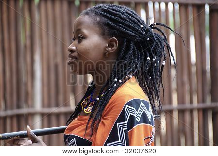 young Swazi woman