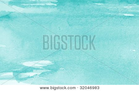 Pastel Blue Watercolor Background 1